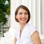 Female executive smiling Natural Light Portrait