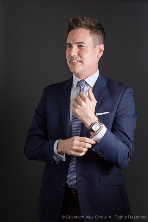 Corporate Portrait Photograph of executive for ACC Aviation