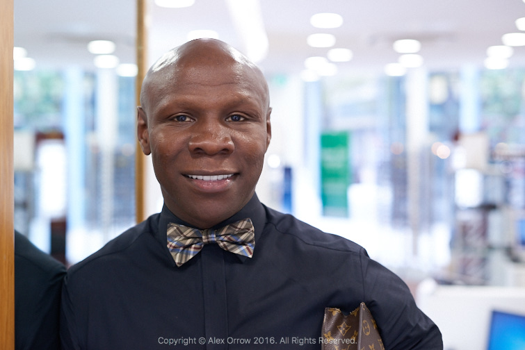 Chris Eubank Optical Express
