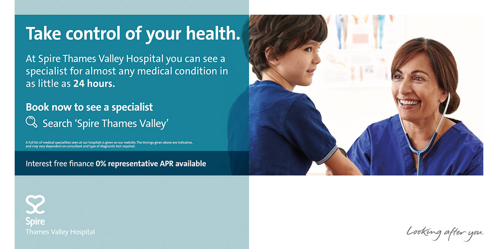 Spire Healthcare 48 Sheet Poster Campaign