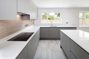 Modern home kitchen interior
