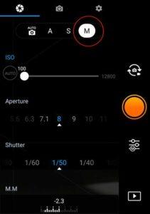 DJI-Exposure-Settings Screenshot