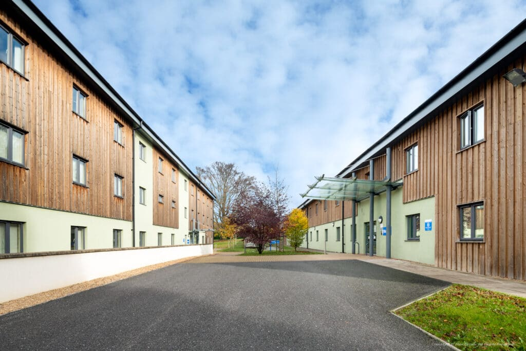 NHS Seacole Centre exterior photography