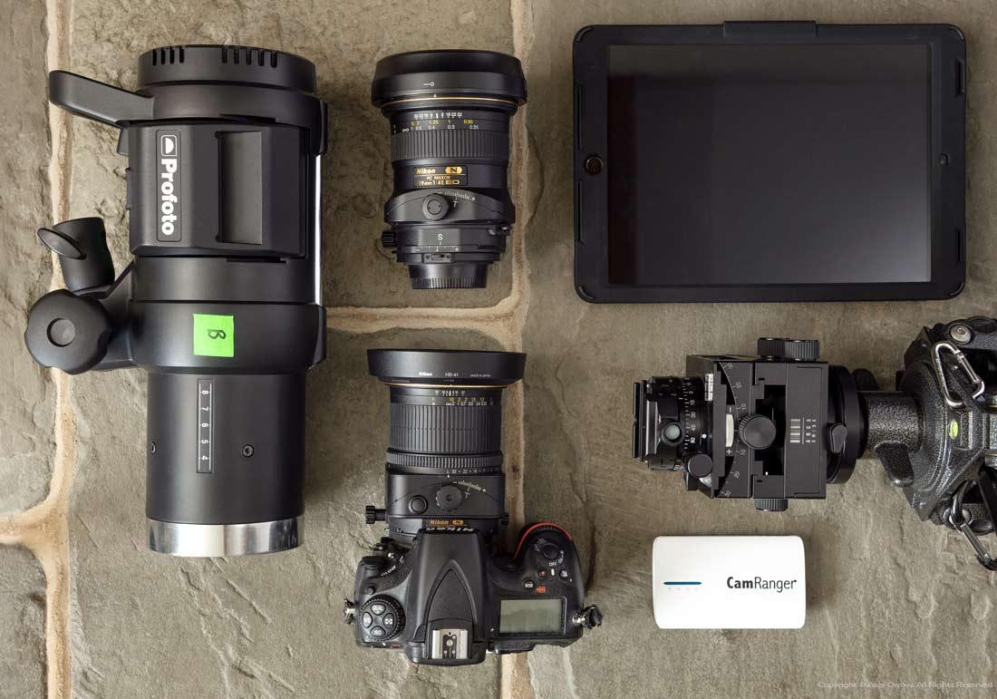 Nikon D850 Profoto CamRanger