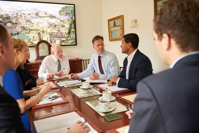 Whitley Asset Management Corporate Photography Meeting