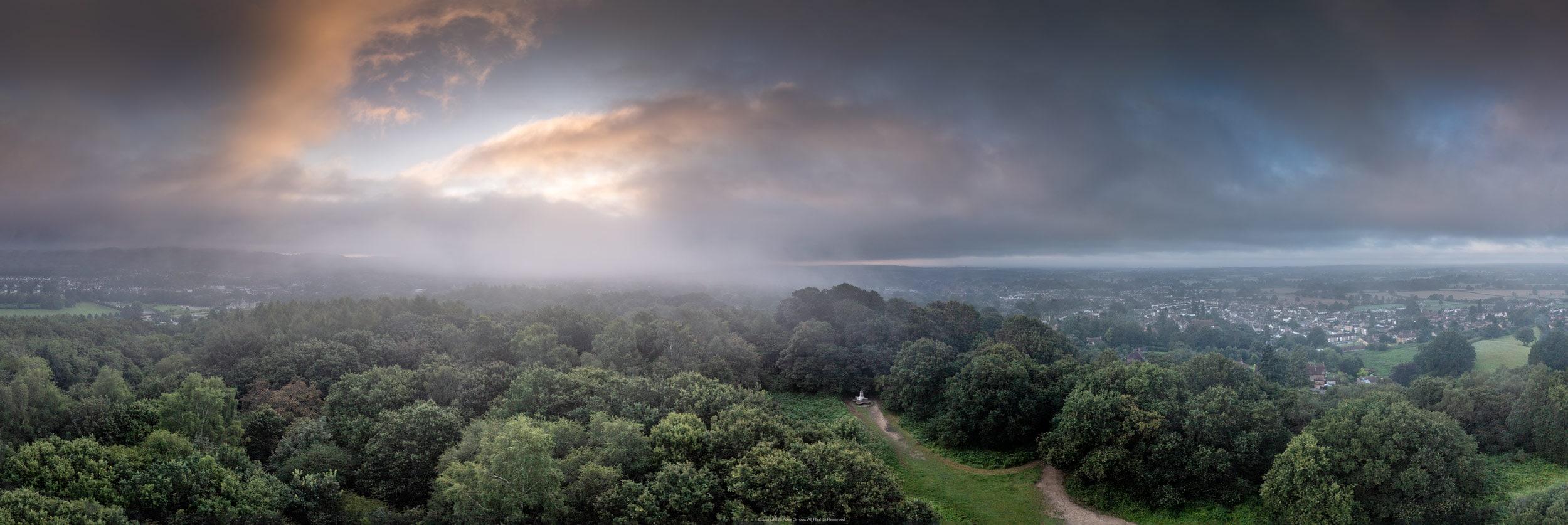 Drone Reigate Priory Park